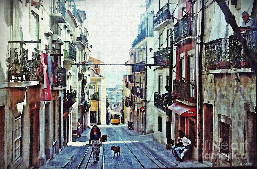 Lisboa Tram Route Photograph