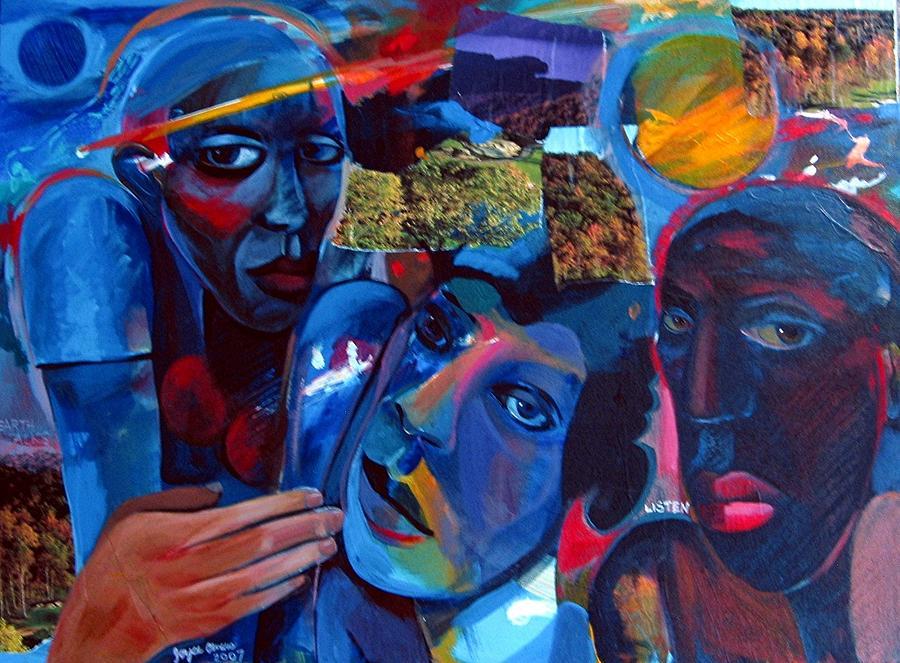 Earth Painting - Listen by Joyce Owens