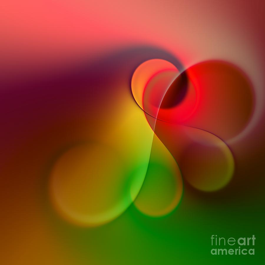 Color Digital Art - Listen To The Sound Of Colors -1- by Issabild -
