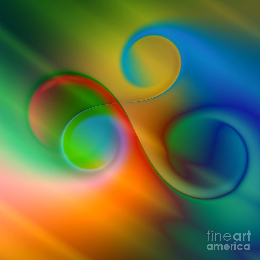 Color Digital Art - Listen To The Sound Of Colors -2- by Issabild -