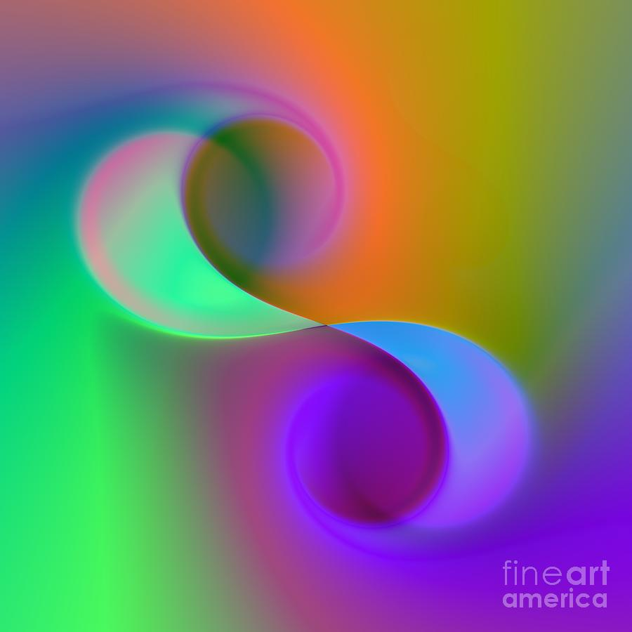 Color Digital Art - Listen To The Sound Of Colors -4- by Issabild -