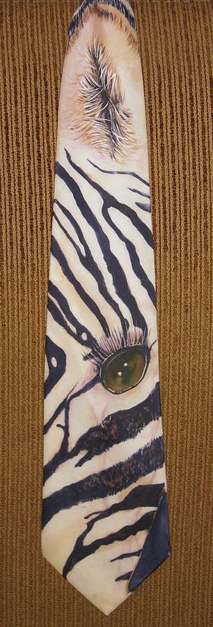 Zebra Painting - Listen Up by David Kelly