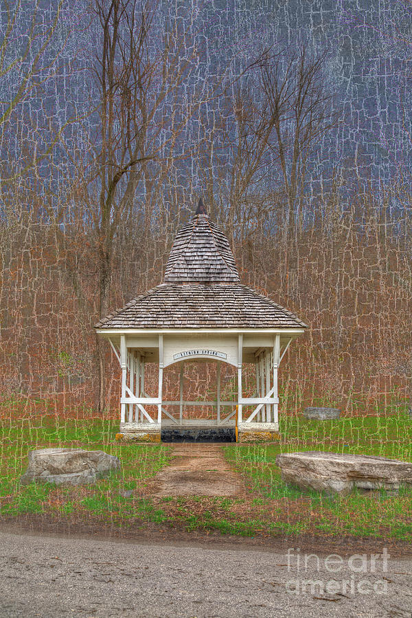 Hdr Photograph - Lithium Spring by Larry Braun
