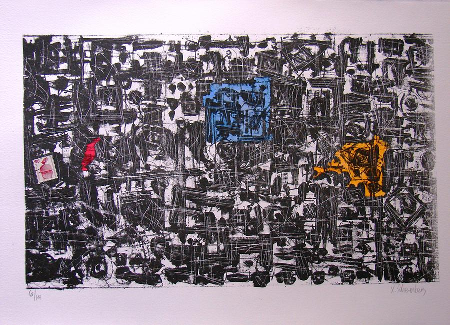Lito3 Painting by X Scherenberg