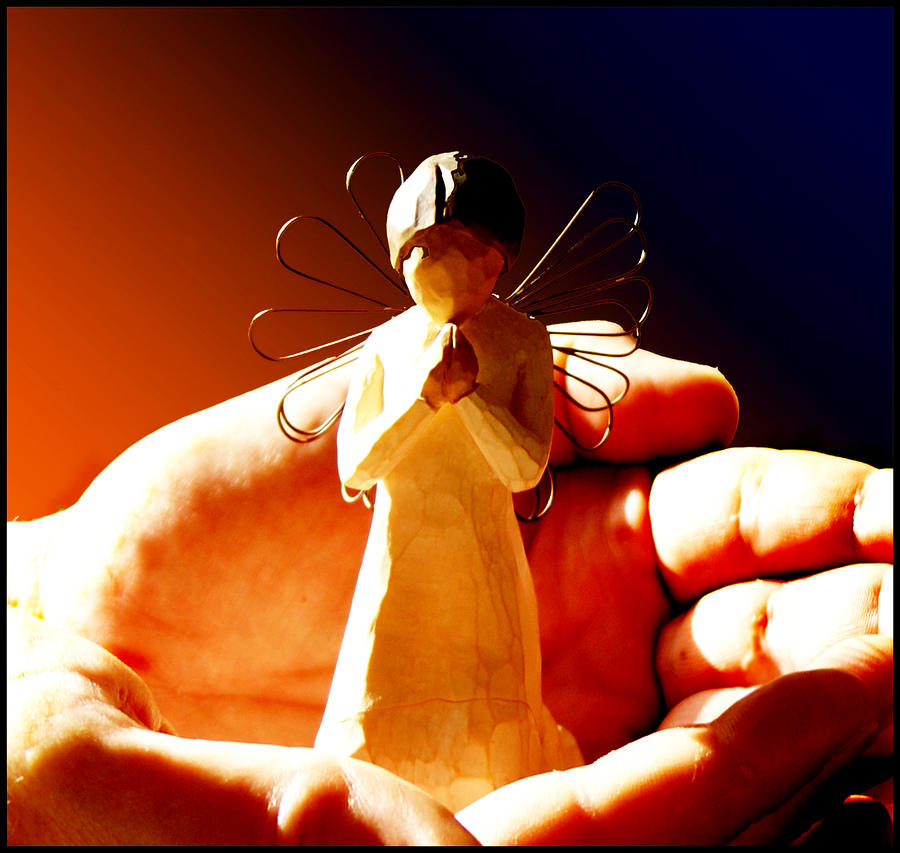 Still Life Photograph - Little Angel by Holly Kempe