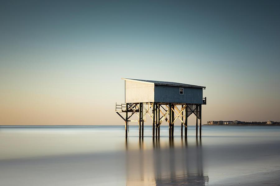 Little Blue Sunrise by Ivo Kerssemakers