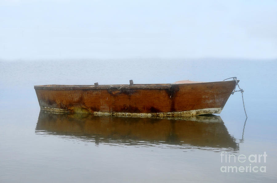 Little Boat In Fog Photograph by David Lee Thompson