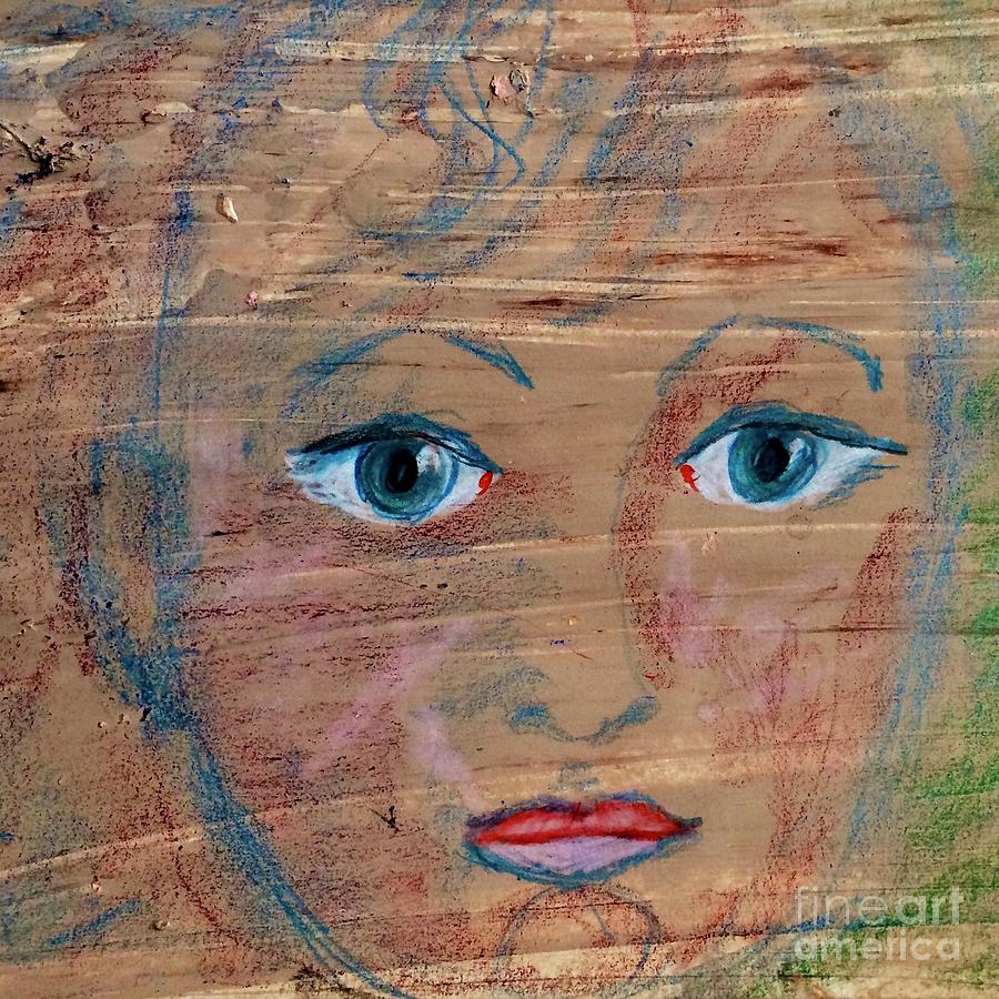 Little Boy Blue Painting - Little Boy Blue by Kim Nelson
