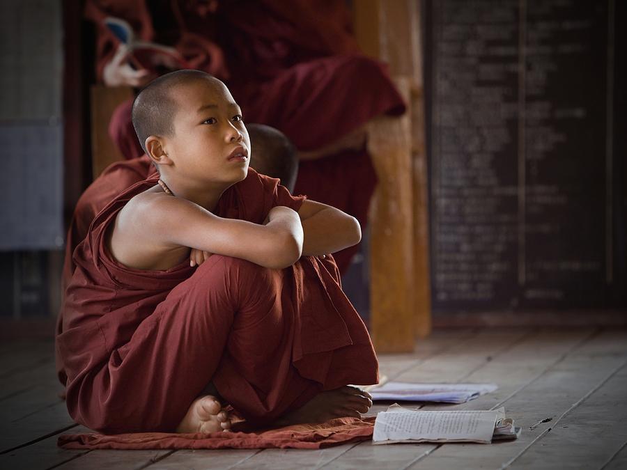 Inle Photograph - Little Buddha by Walde Jansky