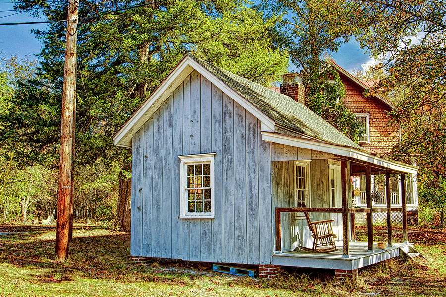Recent Photograph - Little Cabin In The Country Pine Barrens Of New Jersey by Geraldine Scull
