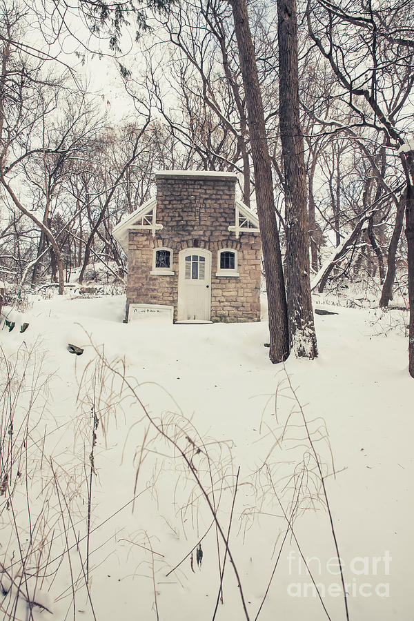Chapel Photograph - Little Chapel in the Woods by Nikki Vig