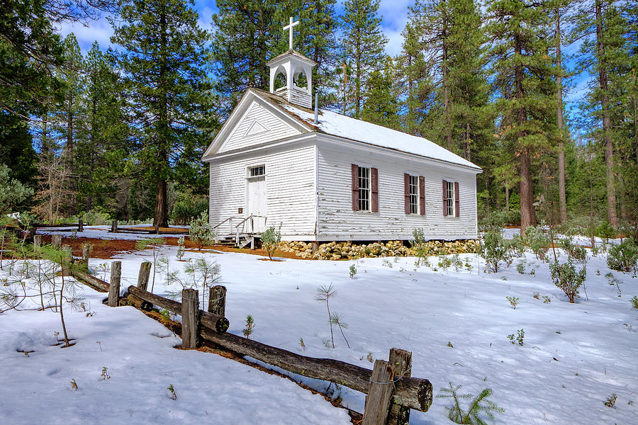 Little Church in the Woods by Robin Mayoff