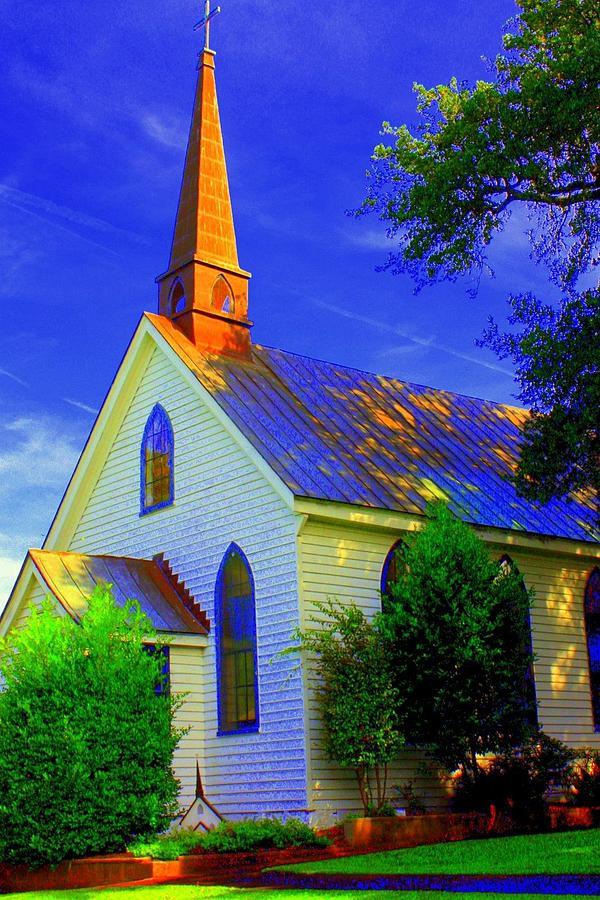 Church Photograph - Little Church by Jill Tennison