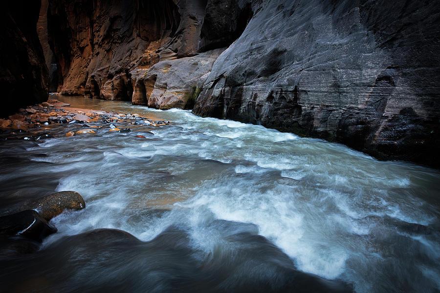 Amaizing Photograph - Little Creek by Edgars Erglis