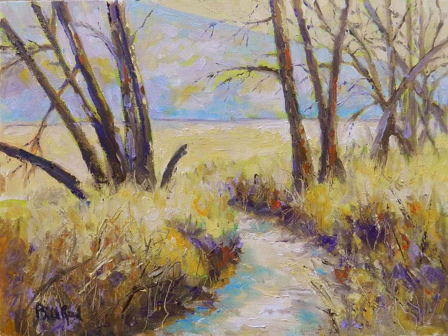 Landscape Painting - Little Creek by William Reed