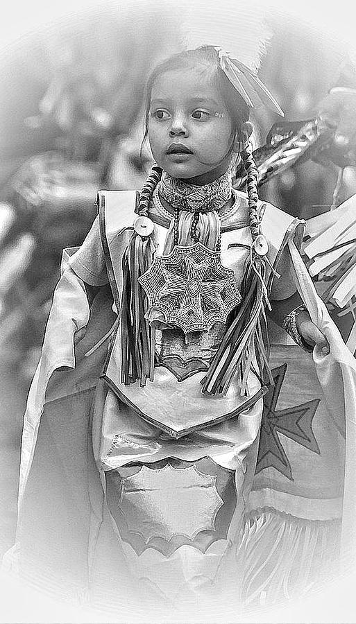 Pow Wow Photograph - Little Dancer2 by Laurie Prentice