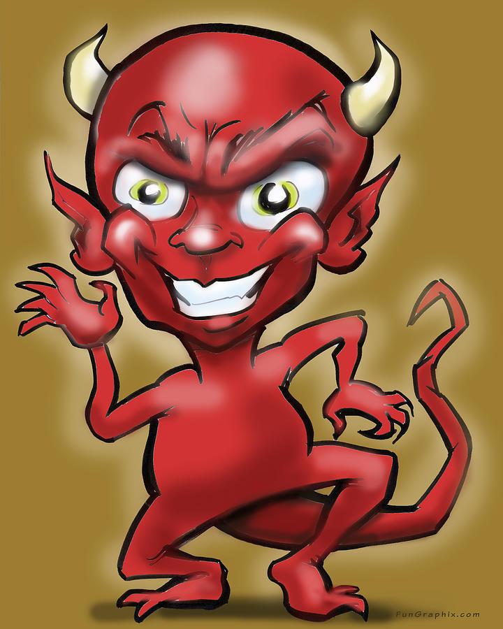 Little Devil Digital Art
