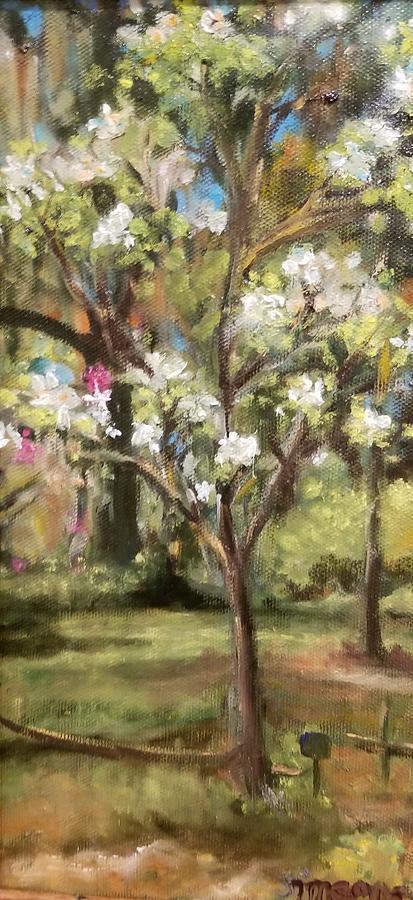 Little Dogwood Tree by Cheryl LaBahn Simeone