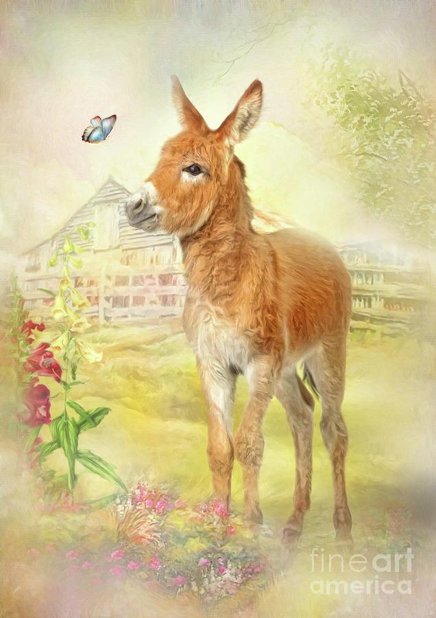 Little Donkey by Trudi Simmonds