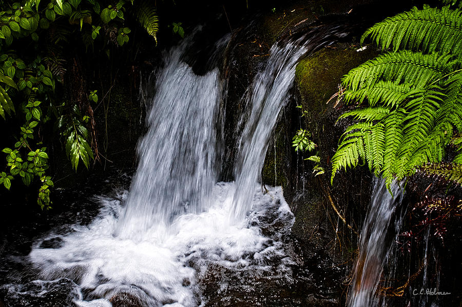 Falls Photograph - Little Falls by Christopher Holmes