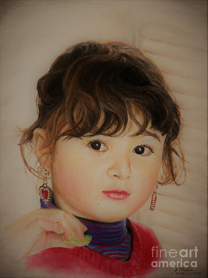 Little Girl by Sorin Apostolescu