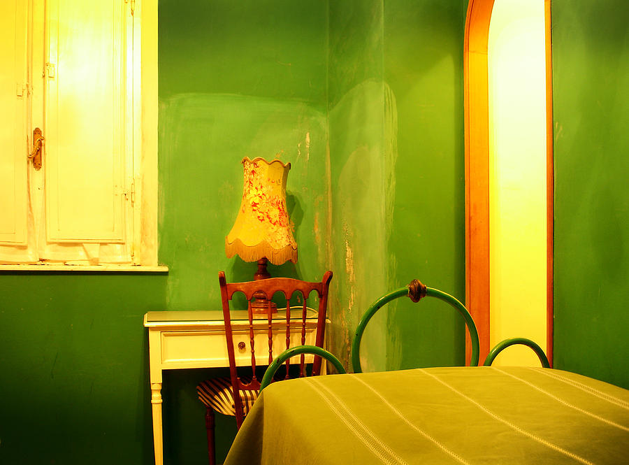 Little Green Room by Jed Holtzman
