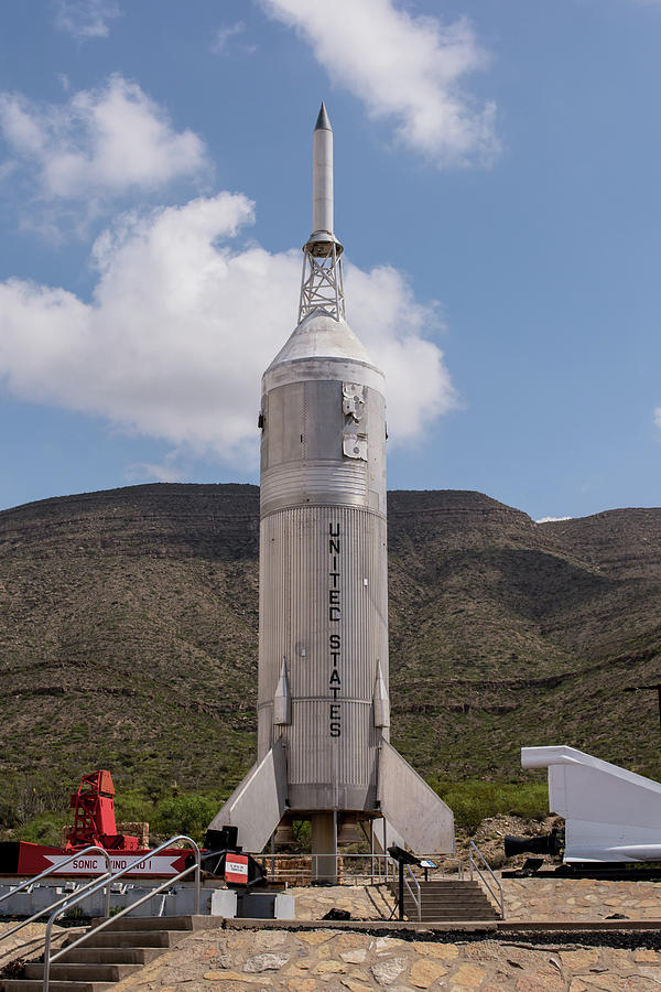 New Mexico Museum Of Space History Photograph - Little Joe 2 Rocket by Allen Sheffield