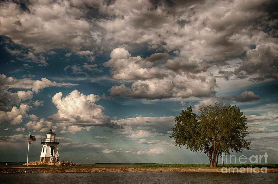 Lighthouse Photograph - Little Lighthouse by Gaby Swanson