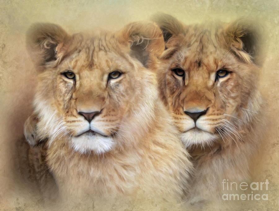 Little Lions Digital Art
