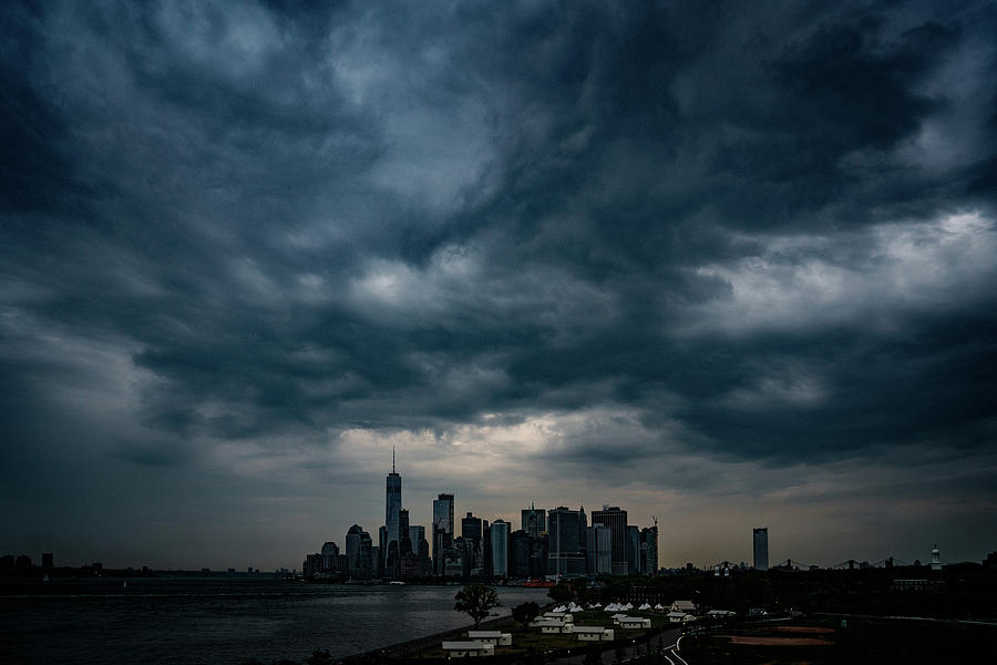 Little Manhattan Under A Cloud by Chris Lord