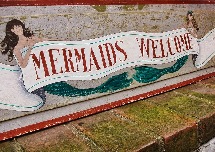 Nantucket Photograph - Little Mermaids by JAMART Photography