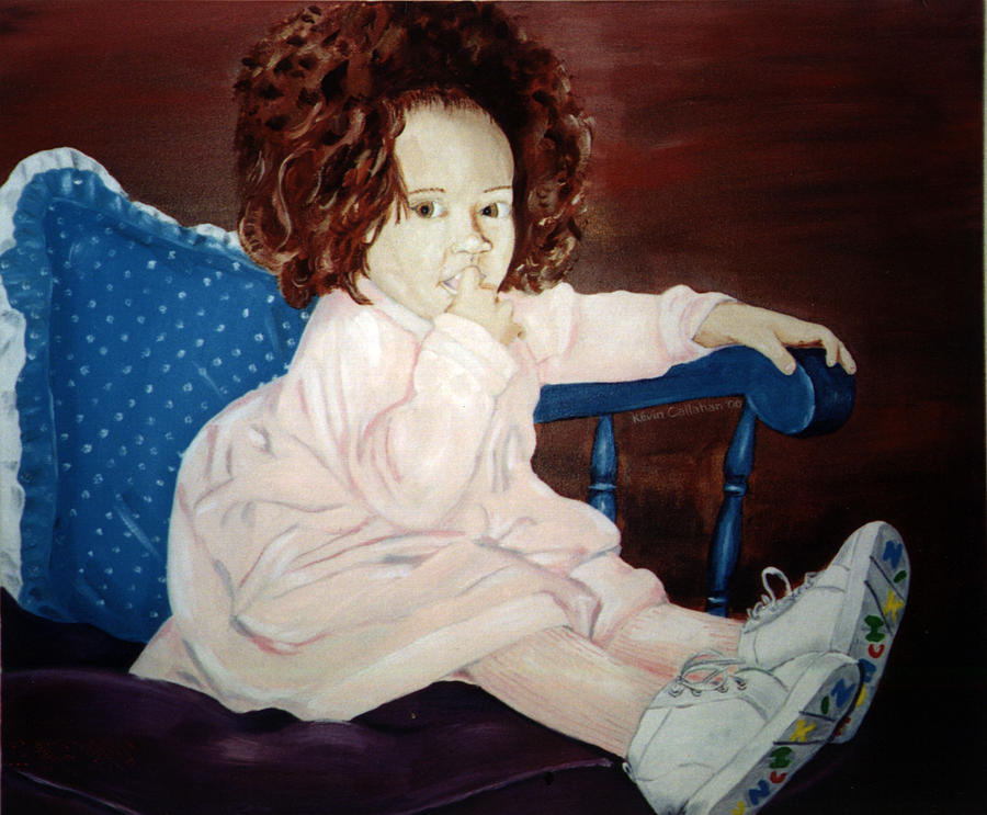 Kevin Callahan Painting - Little Miss Hassler by Kevin Callahan
