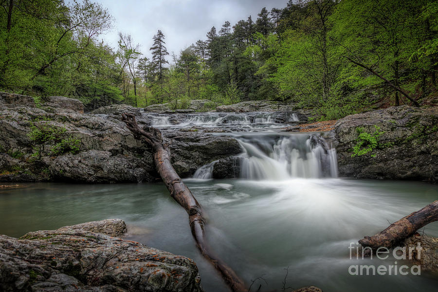 Little Missouri Falls 3 by Larry McMahon