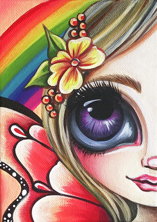 Little Rainbow Fairy by Jaz Higgins