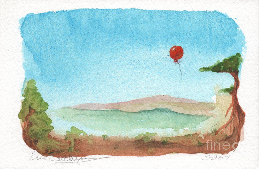 Little Red Balloon by Eric Suchman