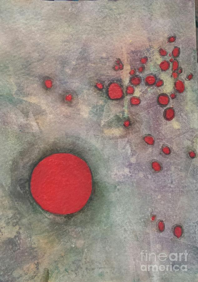 Little Red Circles by Christine Keech