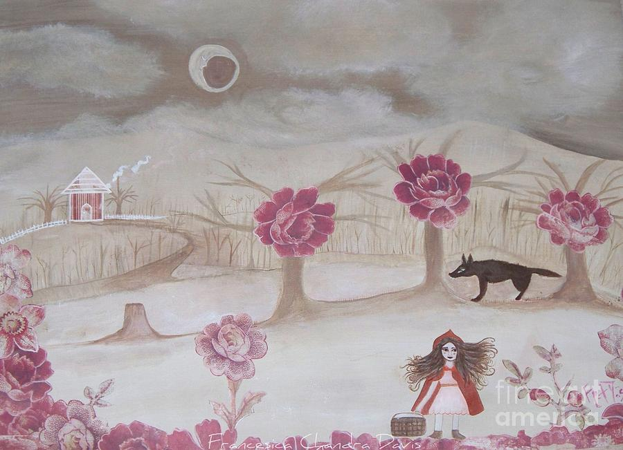 Little Red Riding Hood Painting - Little Red Riding Hood by Sacred  Muse