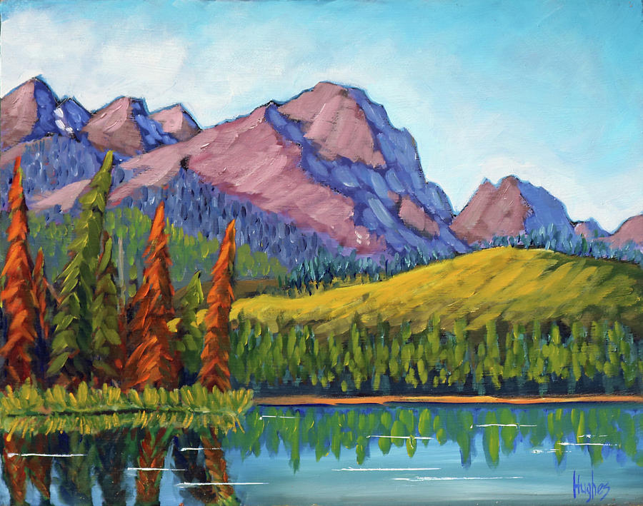 Little Redfish Lake by Kevin Hughes