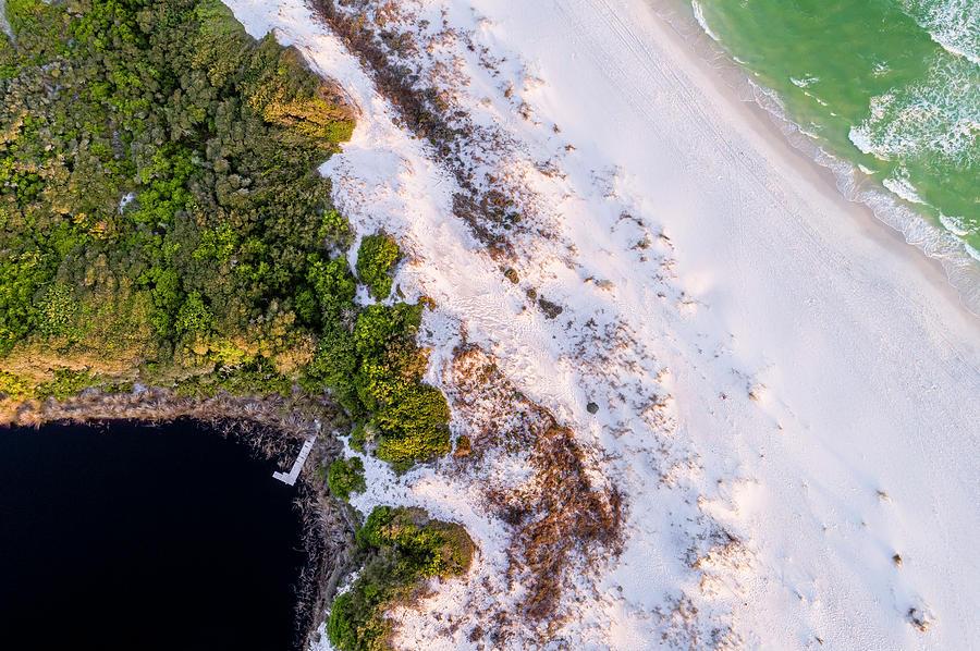 Little Redfish Lake Nestles the Gulf by Kurt Lischka