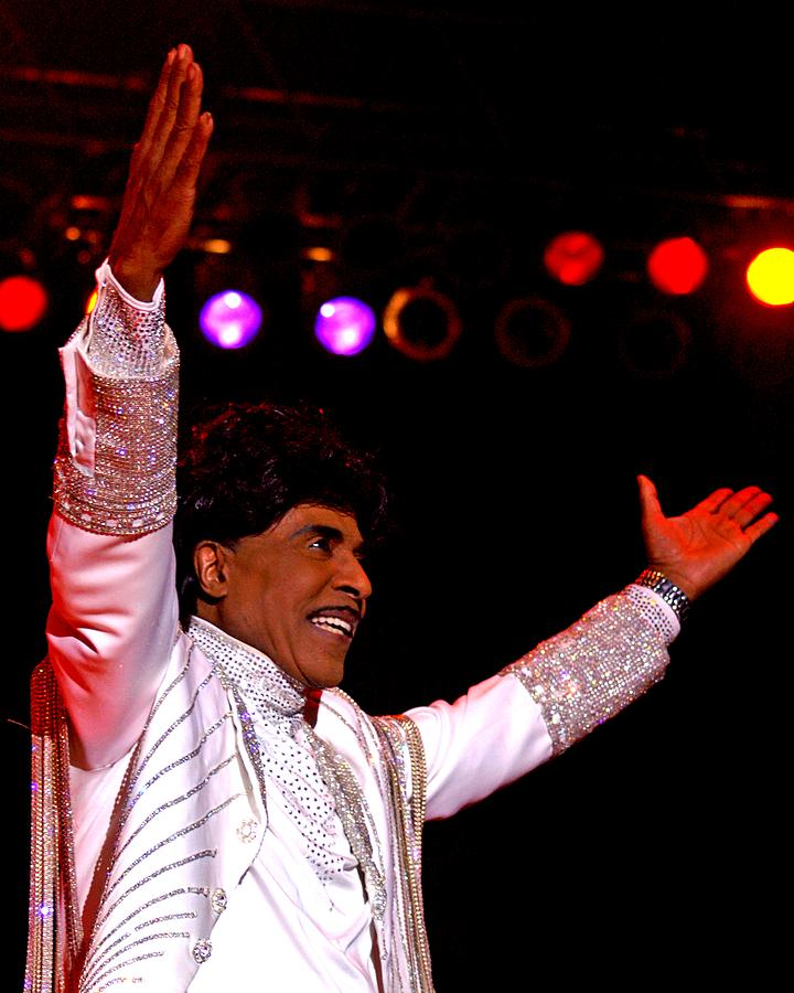 Little Richard Photograph - Little Richard by Bob Guthridge