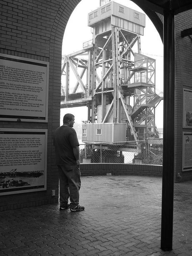 Bridge Photograph - Little Rock Bridge by Odessa Lawson