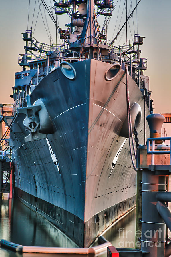 Naval Vessels Photograph - Little Rock by Chuck Alaimo