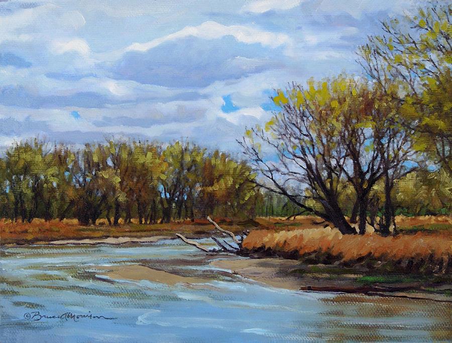 Little Sioux April by Bruce Morrison