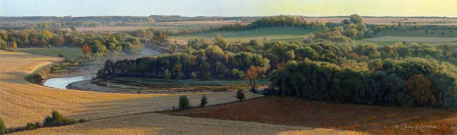 Little Sioux Autumn Sunrise by Bruce Morrison