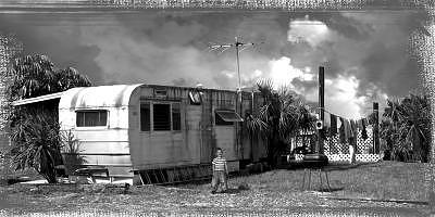 Little Trailer Boy Photograph by Tony Blue