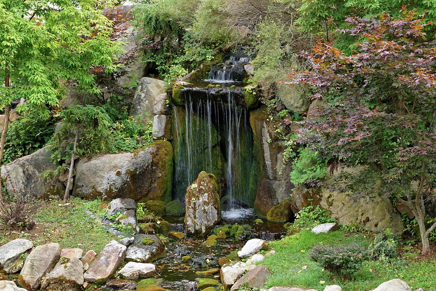 Little Waterfall by Sandy Keeton