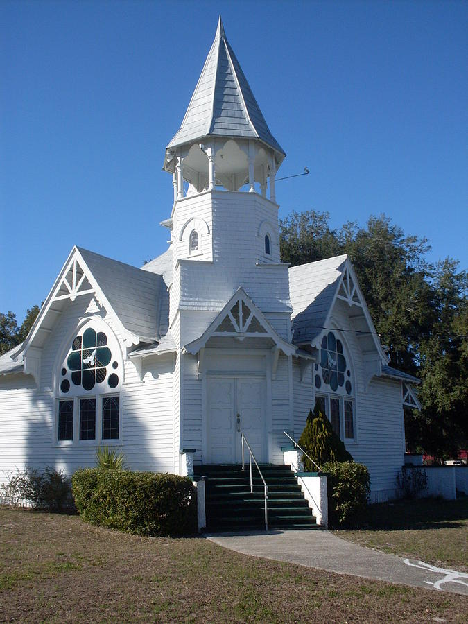 Little White Church Photograph By Warren Thompson