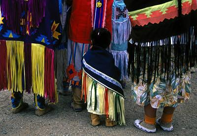 Pueblo Photograph - Littlest Dancer by Susan Peirce