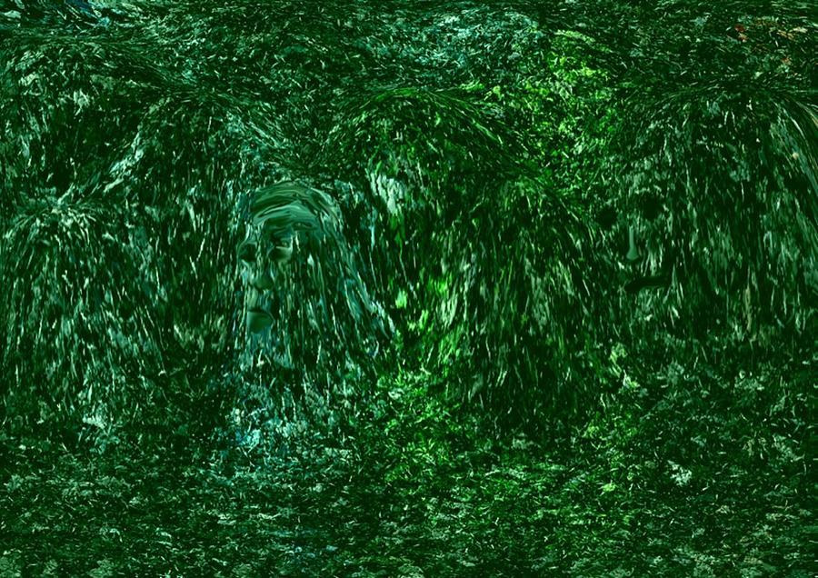 Live Forest Digital Art by Marcelo Macedo Flores Macedo