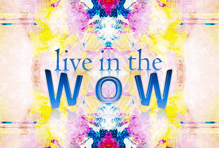 Live In The Wow by Patricia Griffin